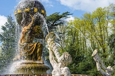 Photograph - Atlas Fountain Close-up by Shanna Hyatt