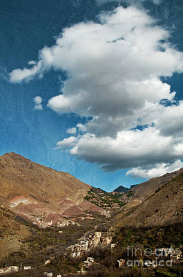 Atlas Photograph - Atlas Mountains 2 by Marion Galt