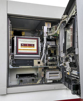 Atm Machine Photograph - Atm Machine by David Oppenheimer