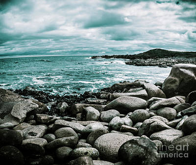 Tides Photograph - Atmosphere In A Looming Sea Storm by Jorgo Photography - Wall Art Gallery