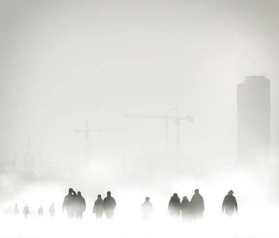 Fog Photograph - Atmosphere by Piet Flour