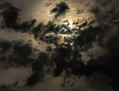 Photograph - Atmospheric Angels by Steven Poulton