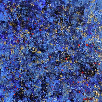 Atmospheric Blue 201750 Art Print by Alyse Radenovic