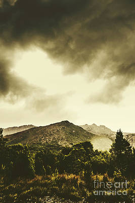 Atmospheric Hills And Valleys Art Print by Jorgo Photography - Wall Art Gallery