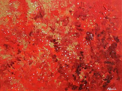 Atmospheric Red 201749 Art Print by Alyse Radenovic
