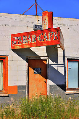 Photograph - Atomic Bar And Cafe by Richard J Cassato
