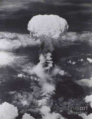 Atomic Bomb, Hiroshima, 1945 Art Print
