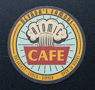 Photograph - Atomic Cafe Coaster by David Lee Thompson