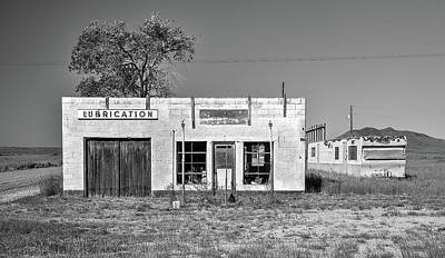 Photograph - Atomic City Lubrication by Richard J Cassato