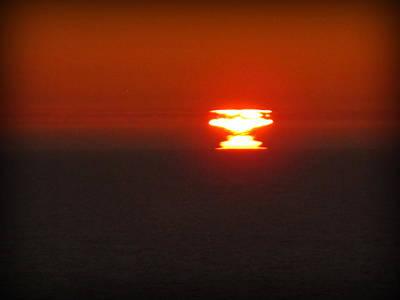 Photograph - Atomic Sunset by Suzy Piatt