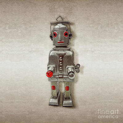 Photograph - Atomic Tin Robot by YoPedro