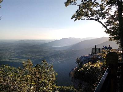 Photograph - Atop Caesars Head by Kathy Barney