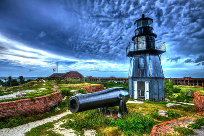 Photograph - Atop Fort Jefferson by Don Mercer