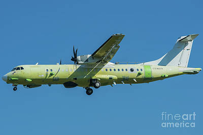 Airlines Photograph - Atr 72 In Primer Livery by Roberto Chiartano