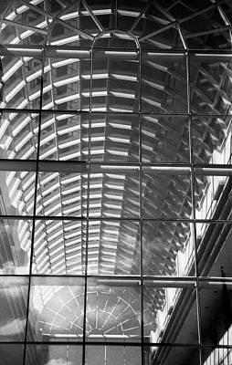 Photograph - Atrium by John Schneider