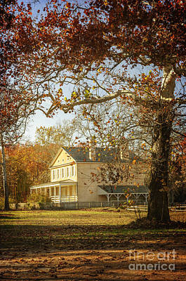 Photograph - Atsion Mansion by Debra Fedchin