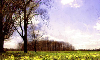 Photograph - Attack Of The Killer Dandelions by Spyder Webb