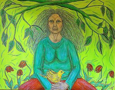 Painting - Attaining Peace by Kim Jones