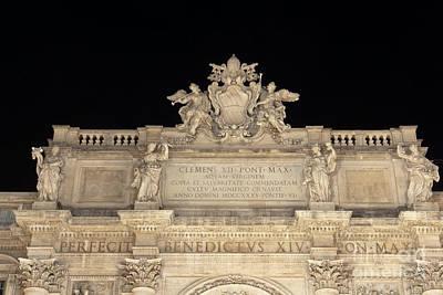 Photograph - Attic Of The Fontana Di Trevi by Fabrizio Ruggeri