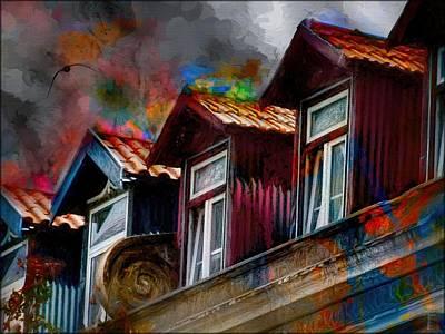 Attic Windows  Original by Daniel  Arrhakis
