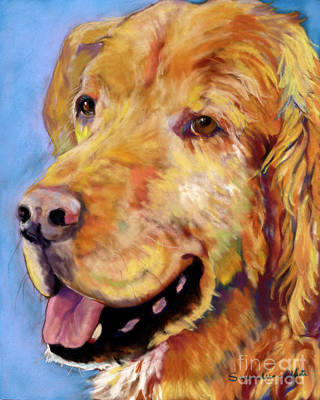 Painting - Atticus by Pat Saunders-White