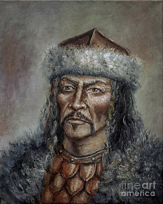 Painting - Attila The Hun by Arturas Slapsys
