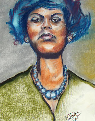 Painting - Attitude by Michael Foltz