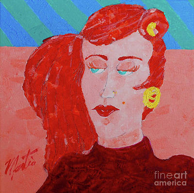 Painting - Attitudes  by Art Mantia