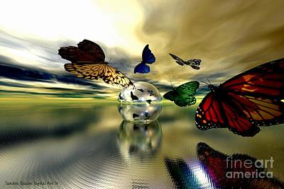 Digital Art - Attraction by Sandra Bauser Digital Art