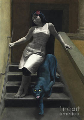 Pastel - Attraction The Stairs Of Love by Kelly Borsheim