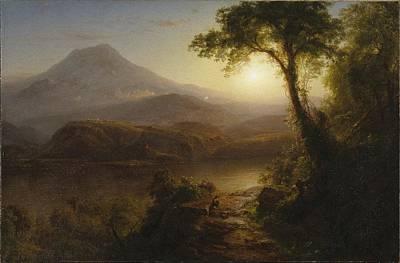 Morning Painting - Attributed To Nehemiah Partridge by Van Vechten