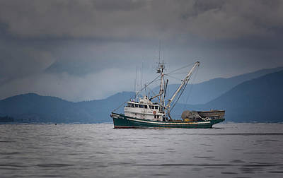 Photograph - Attu Off Madrona by Randy Hall