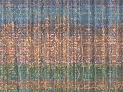 Digital Art - Au Bord D'un Lac by Stan  Magnan
