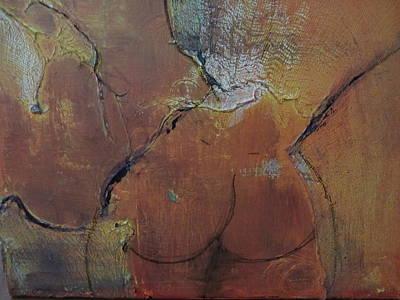 Au Gauze Art Print by Gail Butters Cohen