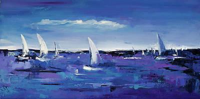 Painting - Au Gre Du Vent by Elise Palmigiani