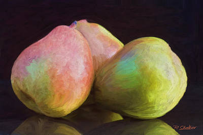 Pear Digital Art - Au Pears by Patricia Stalter