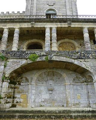 Photograph - Au Vieux Chateau De Vayres by Barbie Corbett-Newmin