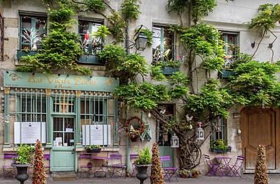 Novel Photograph - Au Vieux Paris by Georgia Fowler