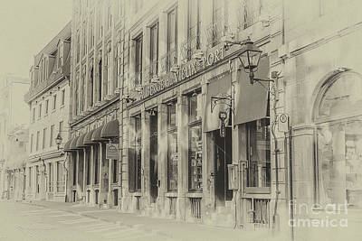 Photograph - Auberge Du Vieux Port by Gene Healy