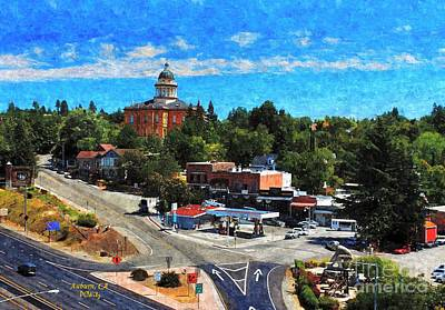Mixed Media - Auburn Ca by Patrick Witz