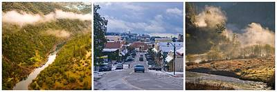 Photograph - Auburn California Triptych by Sherri Meyer