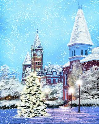 Mixed Media - Tis The Season At Auburn by Mark Tisdale