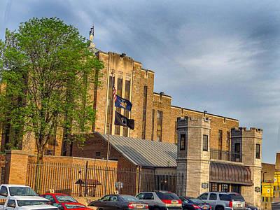 Auburn Correctional Facility Art Print