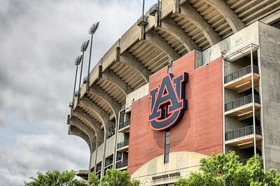 Photograph - Auburn Football by JC Findley