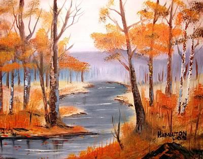 Auburn Forest Art Print