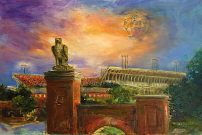 Auburn Skies Art Print by Ann Marshall Bailey