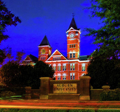 Mixed Media - Auburn University by DJ Fessenden