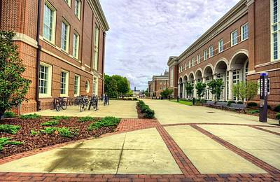 Photograph - Auburn University Engineering  by JC Findley