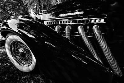 Photograph - Auburn Vintage Auto by Kevin Cable