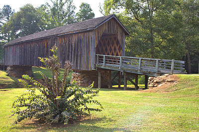 Photograph - Auchumpkee Creek Covered Bridge by Gordon Elwell